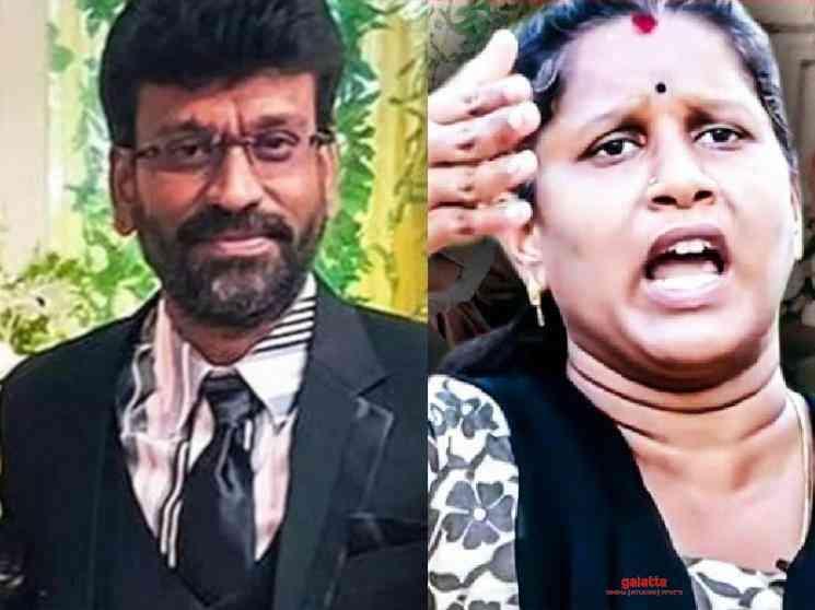 Elizabeth Helen talks about Peter Paul previous affairs Vanitha - Tamil Movie Cinema News