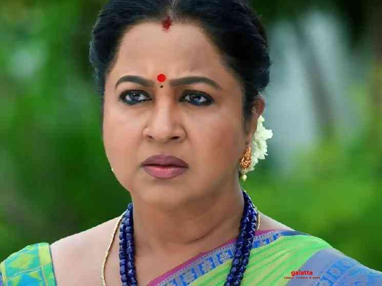 Meera Krishnan plays Mallika character in Radikaa Chithi 2 serial - Tamil Movie Cinema News