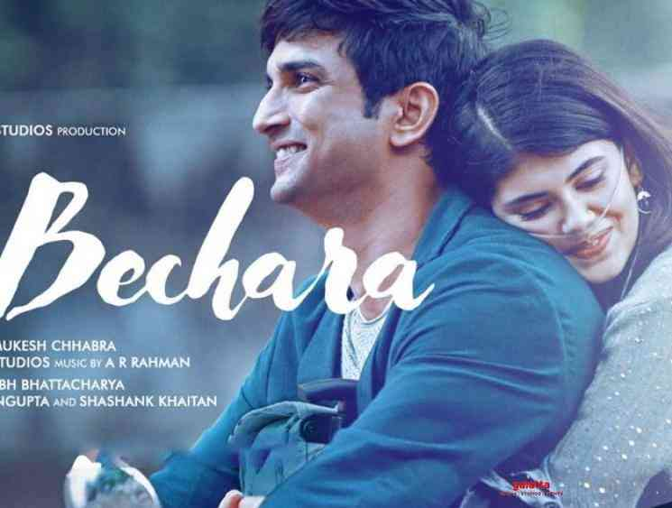 Sushant Singh Rajput Dil Bechara trailer to release on July 6th - Tamil Movie Cinema News