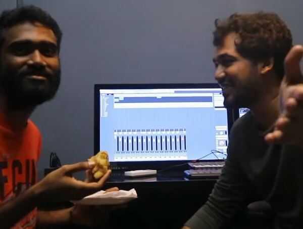 Oliyum Oliyum - Funny Song Composing Video From Comali!