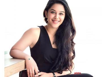 Mirnalini Ravi's new viral video   Valmiki pre release event