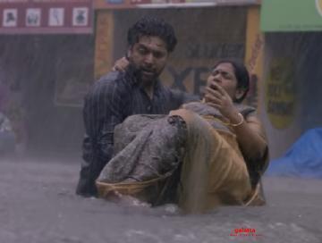 Jayam Ravi Comali Chennai Floods scene making video released - Tamil Movie Cinema News