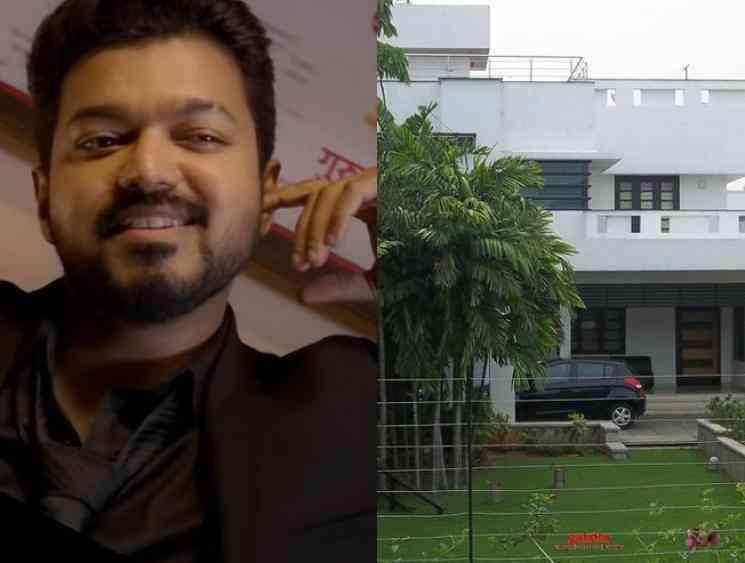 Bomb threat at Thalapathy Vijay Saligramam house - Tamil Movie Cinema News