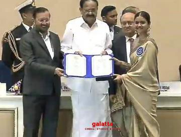 Keerthy Suresh National Award Winning Video Mahanati - Tamil Movie Cinema News