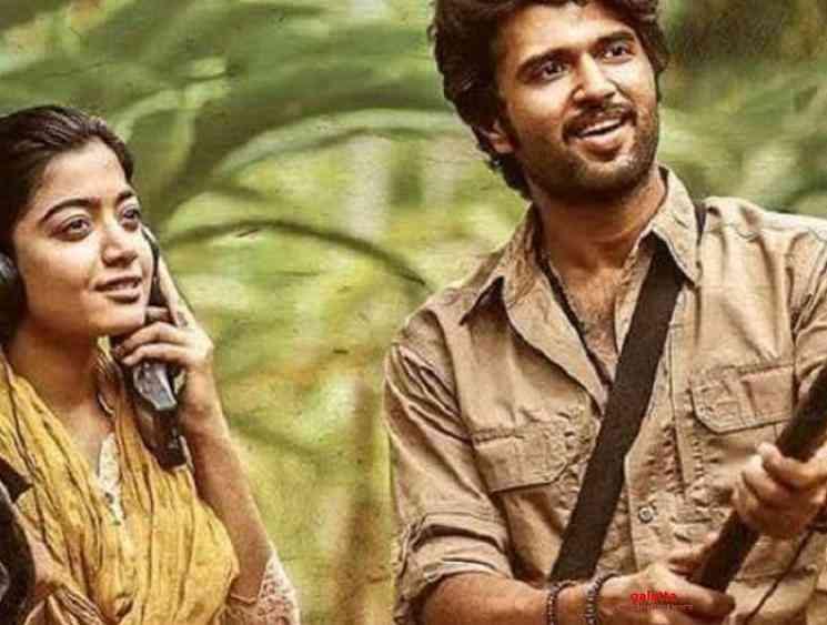 Vijay Deverakonda Dear Comrade Hindi version crosses 100 million - Tamil Movie Cinema News