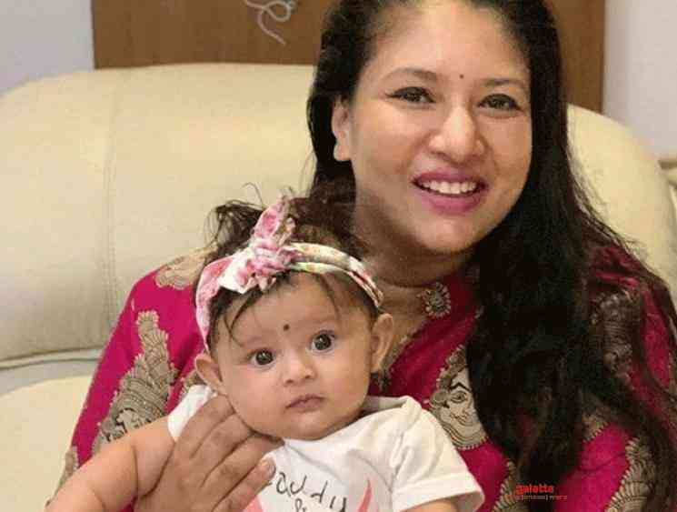 Tamil Actress Sanghavi is blessed with a baby girl - Tamil Movie Cinema News