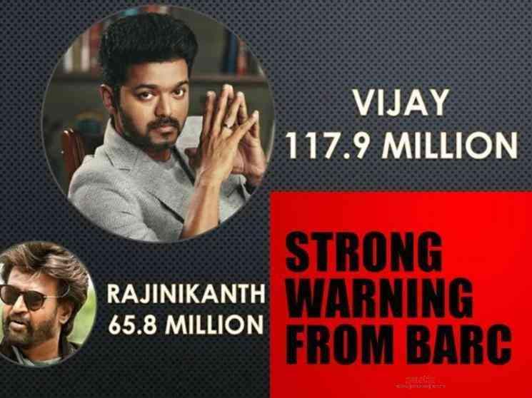 BARC clarifies on lockdown TRP data Vijay Rajinikanth Lawrence - Tamil Movie Cinema News