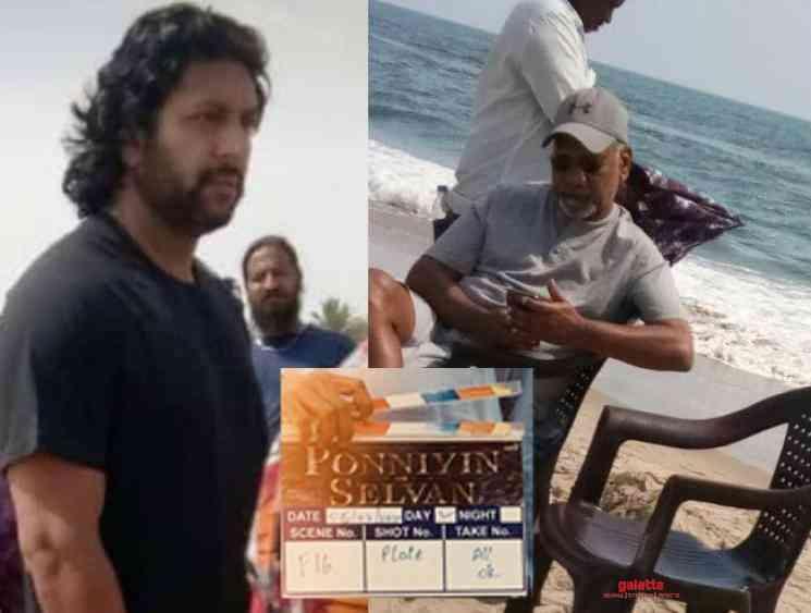Bejoy Nambiar shares photo from Ponniyin Selvan shooting spot - Tamil Movie Cinema News