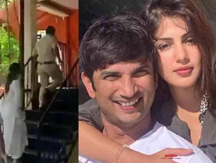 Police interrogates Sushant Singh girlfriend Rhea Chakraborty - Tamil Movie Cinema News