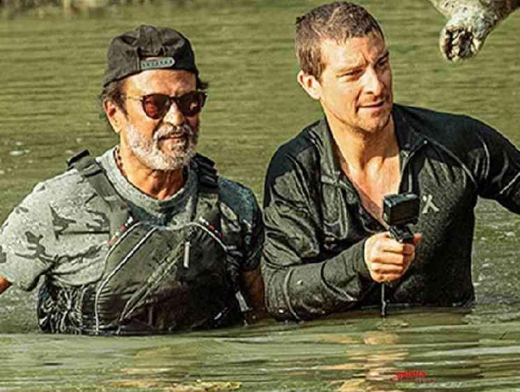 Rajinikanth shares his experience in Into the Wild Bear Grylls - Tamil Movie Cinema News