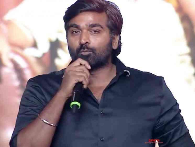 Vijay Sethupathi reveals his next set of projects after Master - Tamil Movie Cinema News
