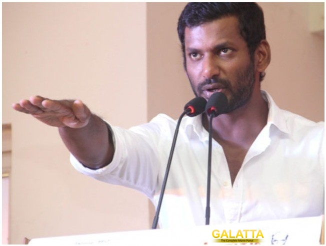 Producers Praise Vishal For His Efforts During TFPC Strike