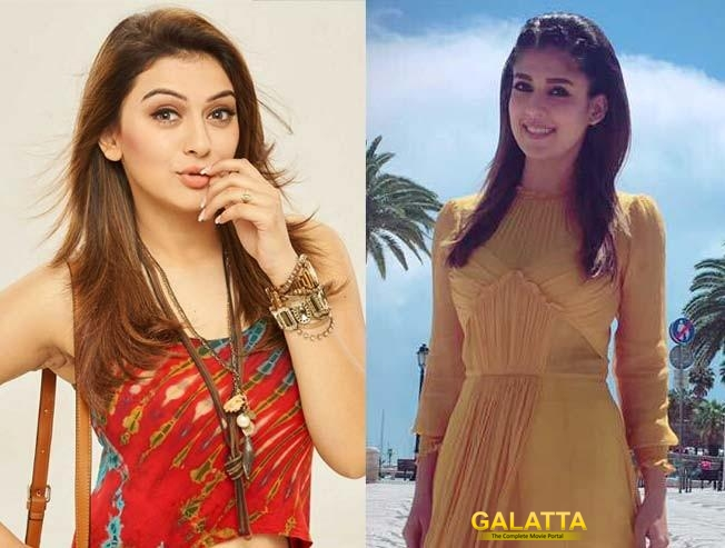 Will it be Hansika or Nayanthara for Sangamithra?