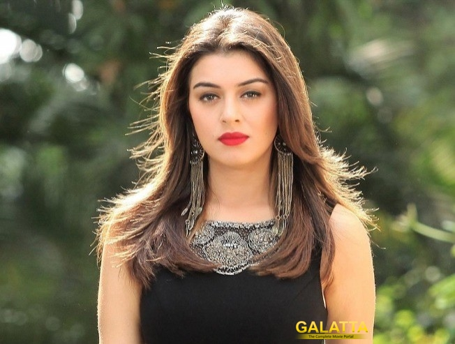 Hansika 50th Movie Maha First Poster Releasing On 9th December