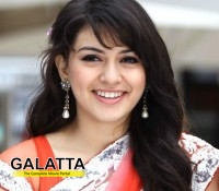Hansika in Ishq remake