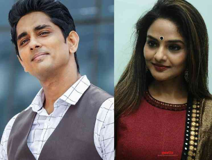 Siddharth to act in a Tamil web series for Hotstar with Madhoo - Tamil Movie Cinema News