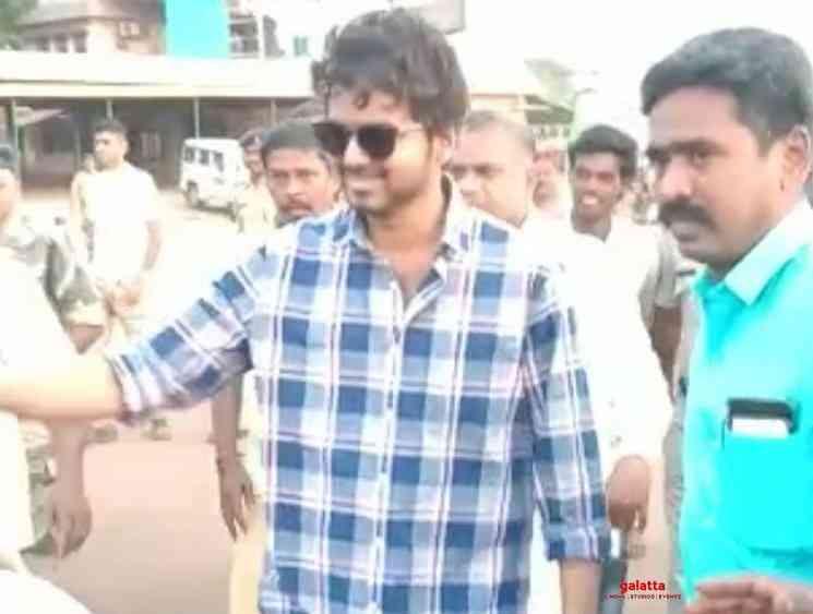 Rathna Kumar shares a video from Master shooting spot - Tamil Movie Cinema News
