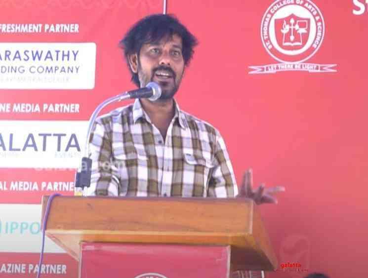 Cameraman Natty vents out against Anurag Kashyap - Tamil Movie Cinema News