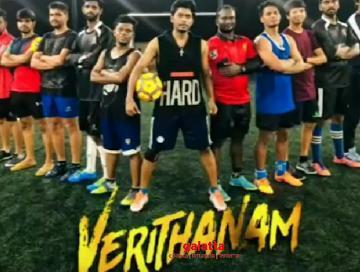Bigg Boss fame Sandy Verithanam Football trick viral video - Tamil Movie Cinema News