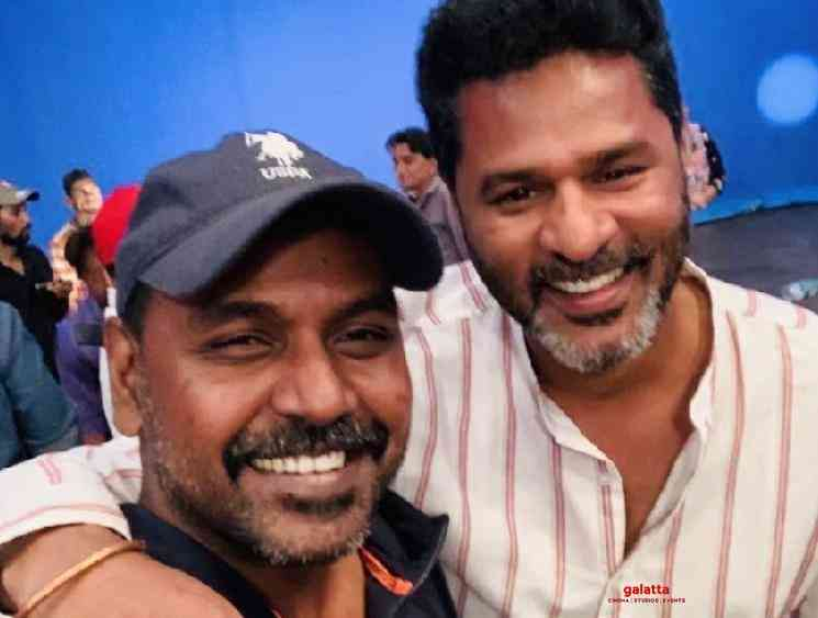 WOW: Prabhu Deva meets Raghava Lawrence at the sets of Laxmmi Bomb! What is the reason? - Tamil Cinema News