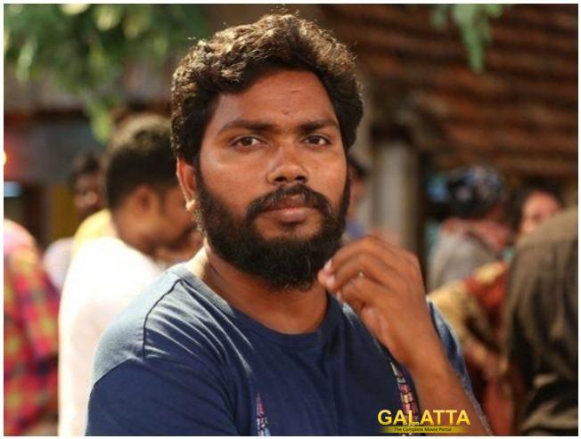 Pa Ranjith Moodar Koodam Naveen Anandhi Next Film Title Look Unveil