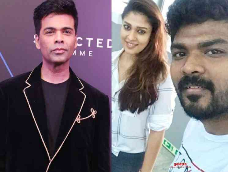 Karan Johar wishes Vignesh Shivan for Kaathuvaakula Rendu Kaadhal - Tamil Movie Cinema News