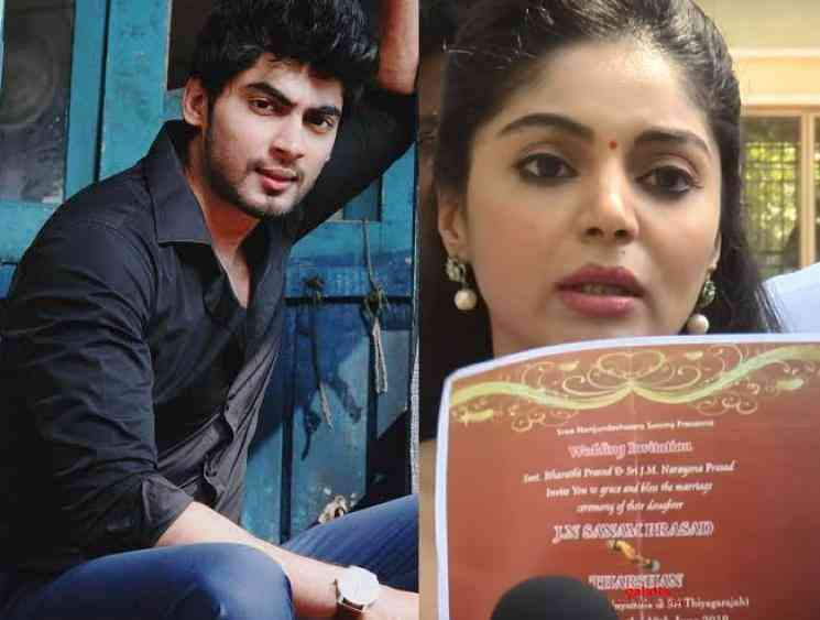 Sanam Shetty files a police complaint against Bigg Boss Tharshan - Movie Cinema News