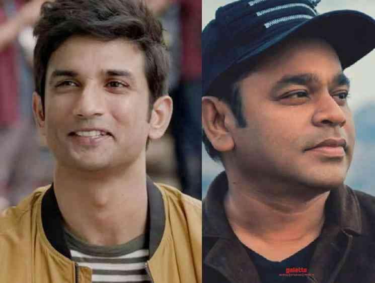 AR Rahman reacts to SushantSinghRajput Dil Bechara Trailer Record - Tamil Movie Cinema News