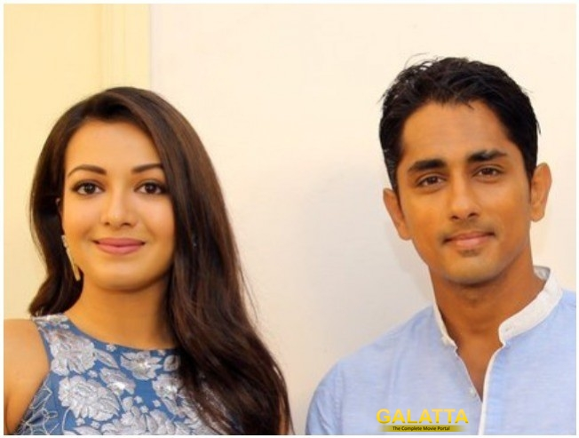 Siddharth Catherine Tresa In Trident Arts Third Production Film
