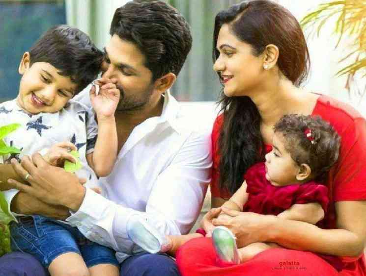 Allu Arjun pens an emotional note for his son Ayaan birthday - Tamil Movie Cinema News