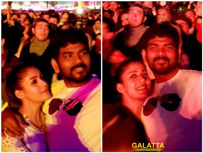 Vignesh ShivN Posts Coachella Pictures With Lady Superstar Nayanthara On Instagram