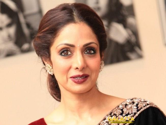 Shocking - Evergreen Tamil Hindi Actress Sridevi dies of Massive Cardiac arrest
