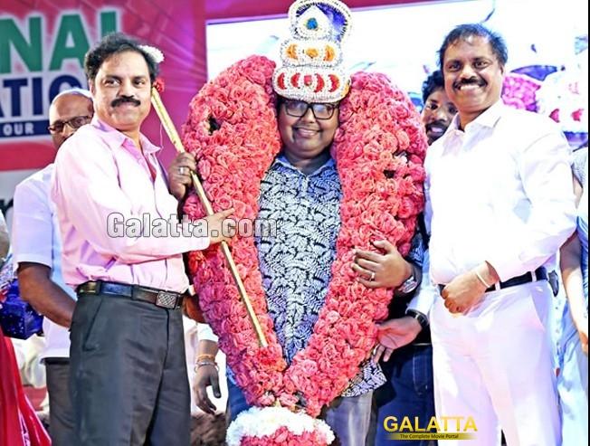 D. Imman rocks Chennai Foundation's 'Iniya Geethangal'