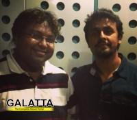 Sonu Nigam sings for Vijay