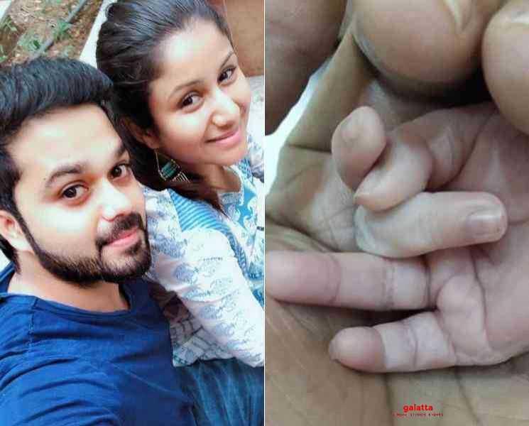 முதல் முறையாக குழந்தையின் புகைப்படத்தை ரசிகர்களுடன் பகிர்ந்த சஞ்சீவ் !- Tamil Movies News