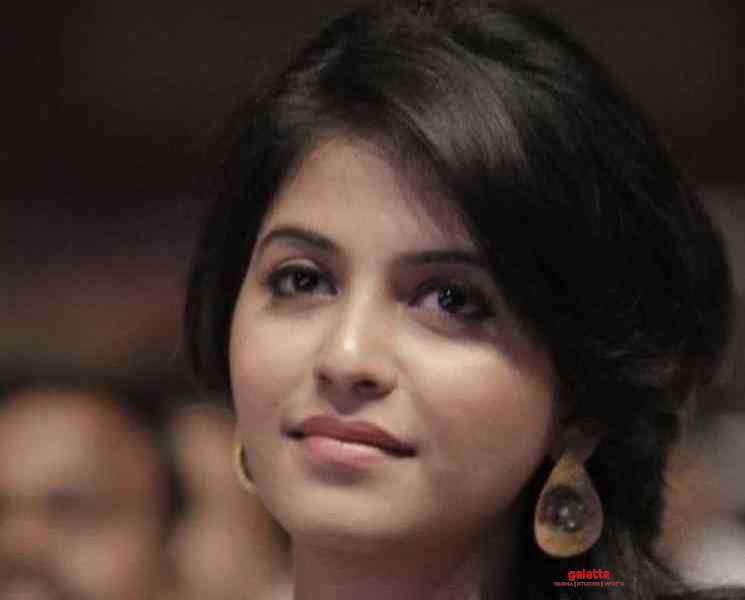 நடிகை அஞ்சலி வீட்டில் இணைந்த புதிய நபர் ! வைரலாகும் புகைப்படம்- Tamil Movies News
