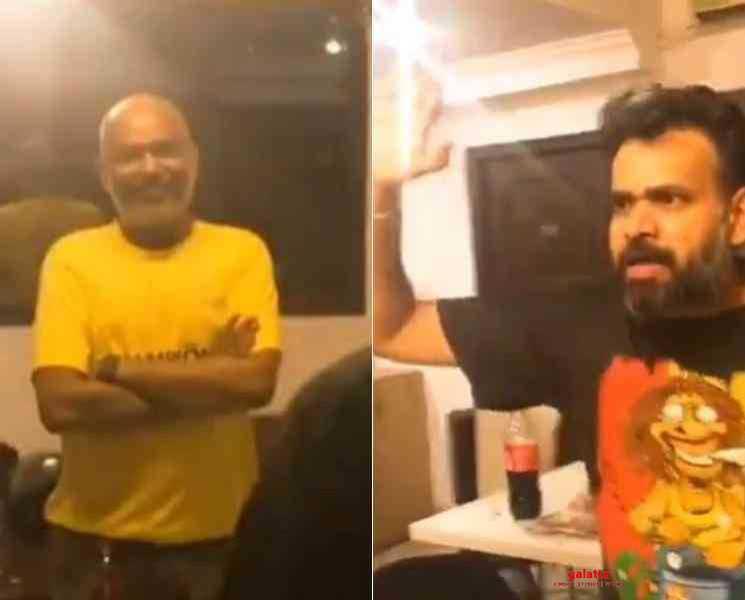 அடிக்க கை ஓங்கிய பிரேம்ஜி ! தர்மத்தின் தலைவனாக வெங்கட் பிரபு - Latest Tamil Cinema News
