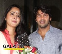 Inji Iduppazhagi  launched - Arya and Anushka pair again
