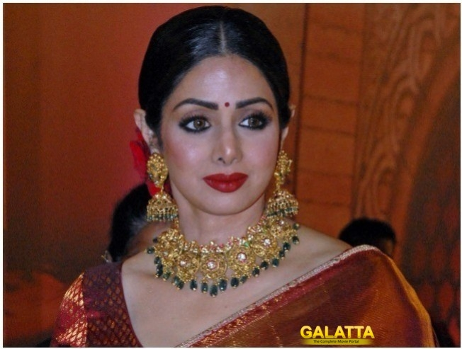 Sridevi Wins Her First Ever National Award
