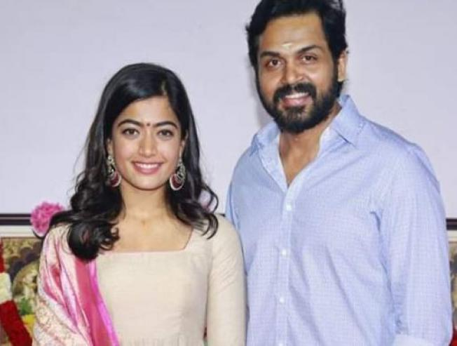 Comedian Actor Sathish Roped In For K19 Karthi Rashmika Mandanna Movie