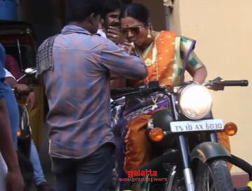 Arav Market Raja MBBS new making video ft Radikaa Sarathkumar - Tamil Movie Cinema News