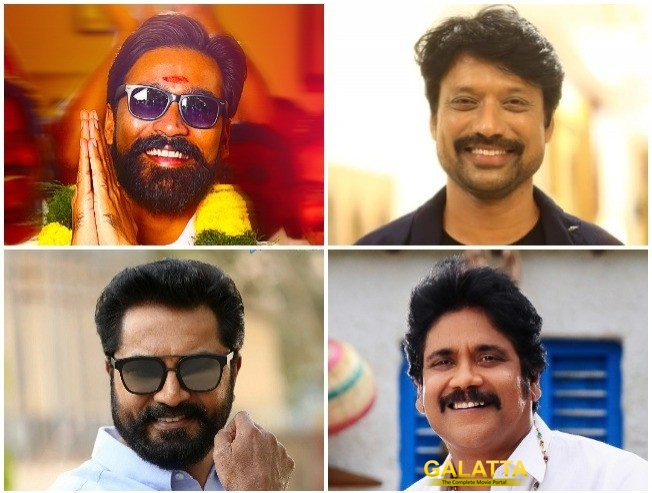 MASSIVE: Dhanush Gets SJ Suryah, Sarathkumar, Nagarjuna For Second Directorial