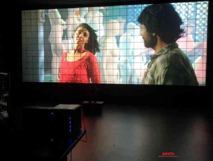 SJ Surya Bommai DI Color Grading Works on Progress lockdown - Tamil Movie Cinema News