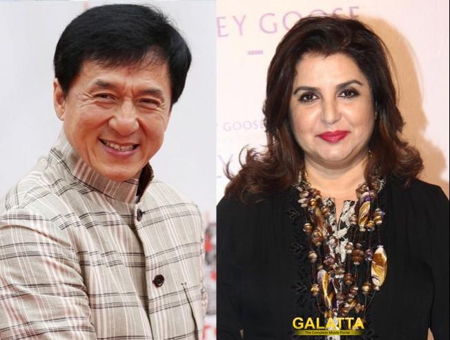 Jackie Chan is a great dancer, Farah Khan