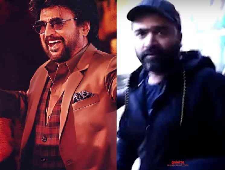 STR spotted at Darbar FDFS Simbu Review on Darbar Viral Video - Tamil Movie Cinema News