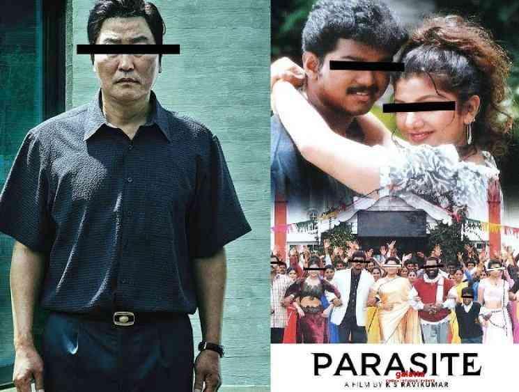 KS Ravikumar reacts about Oscar film Parasite and MinsaraKanna - Tamil Movie Cinema News