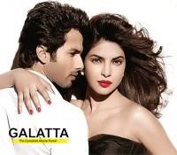 When Priyanka kissed ex-flame Shahid!
