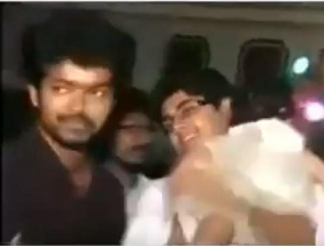 Vijay Ajith In The Same Video Function Goes Viral Birthday Party