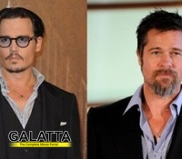 Depp and Pitt to share the same house in Britain?