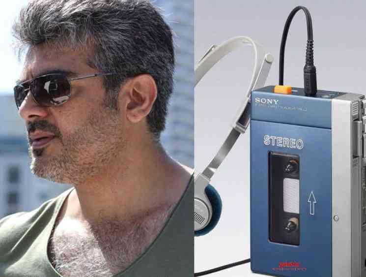 Interesting story behind Ajith Kumar Walkman gift - Tamil Movie Cinema News